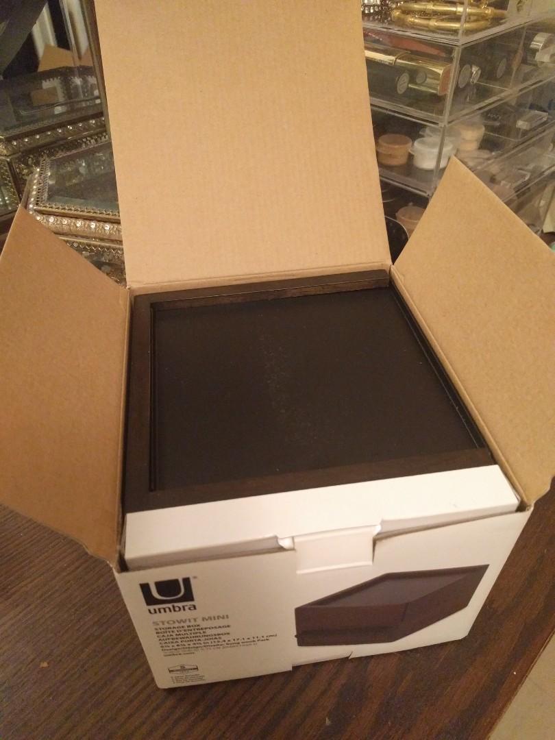 New, Unopened Umbra Jewelry Storage Box