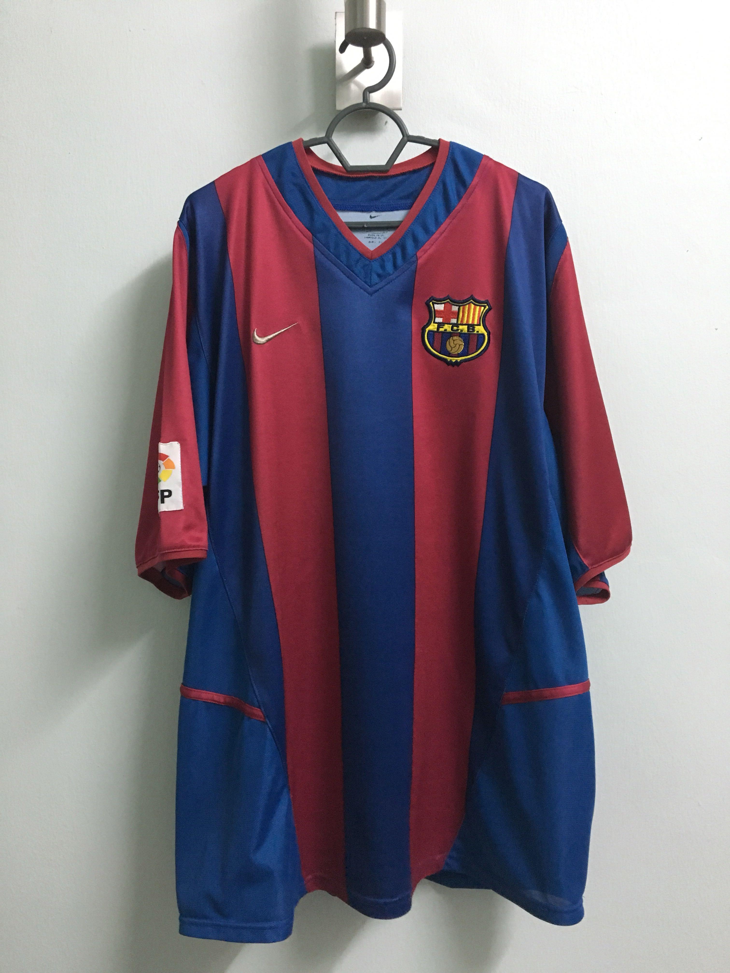 1f3c5985334 Nike Football 2002-03 season FC Barcelona Jersey