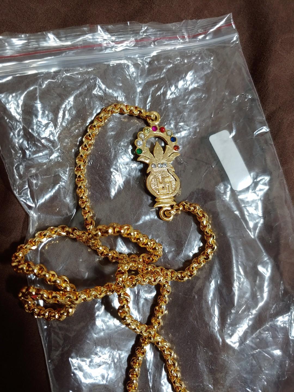 Panchaloha/ panchalogha / ipoun mugappu thali chain with
