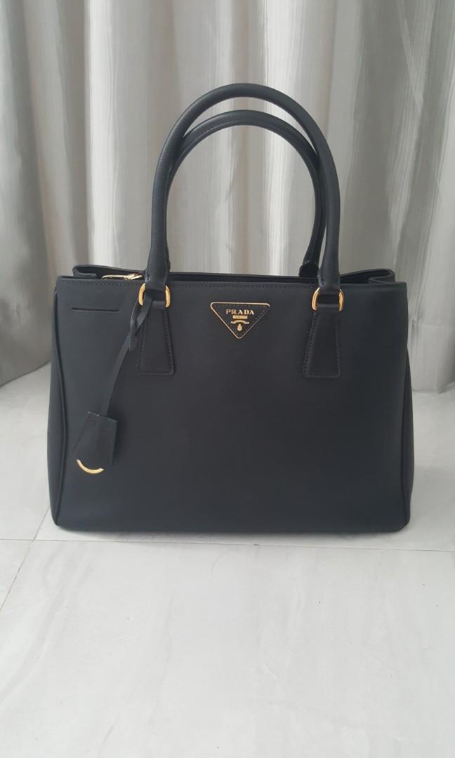 bb644ba1414f Prada Saffiano Leather Bag, Luxury, Bags & Wallets, Handbags on ...