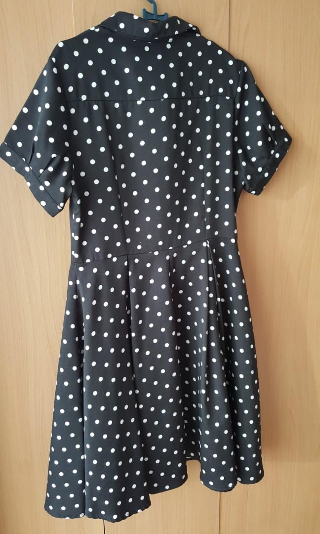 Preloved Spotted Dress