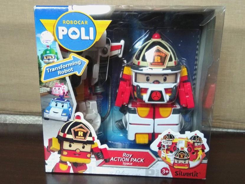 Robocar Poli - Roy Action Pack (Space), Mainan & Game, Action Figures & Koleksi di Carousell