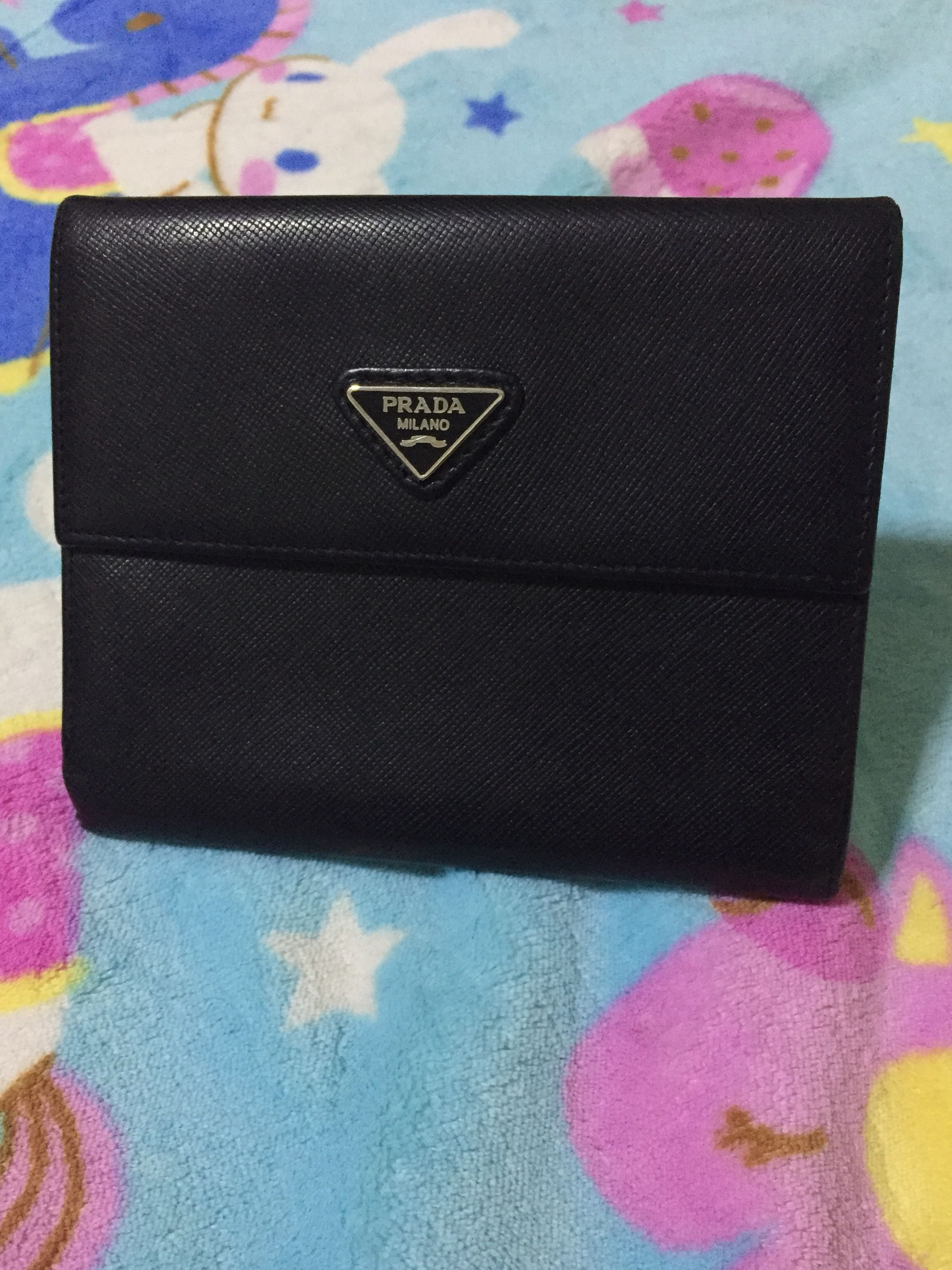 e02881479c5b SALE! Original Prada Saffiano Leather Short Wallet, Luxury, Bags ...