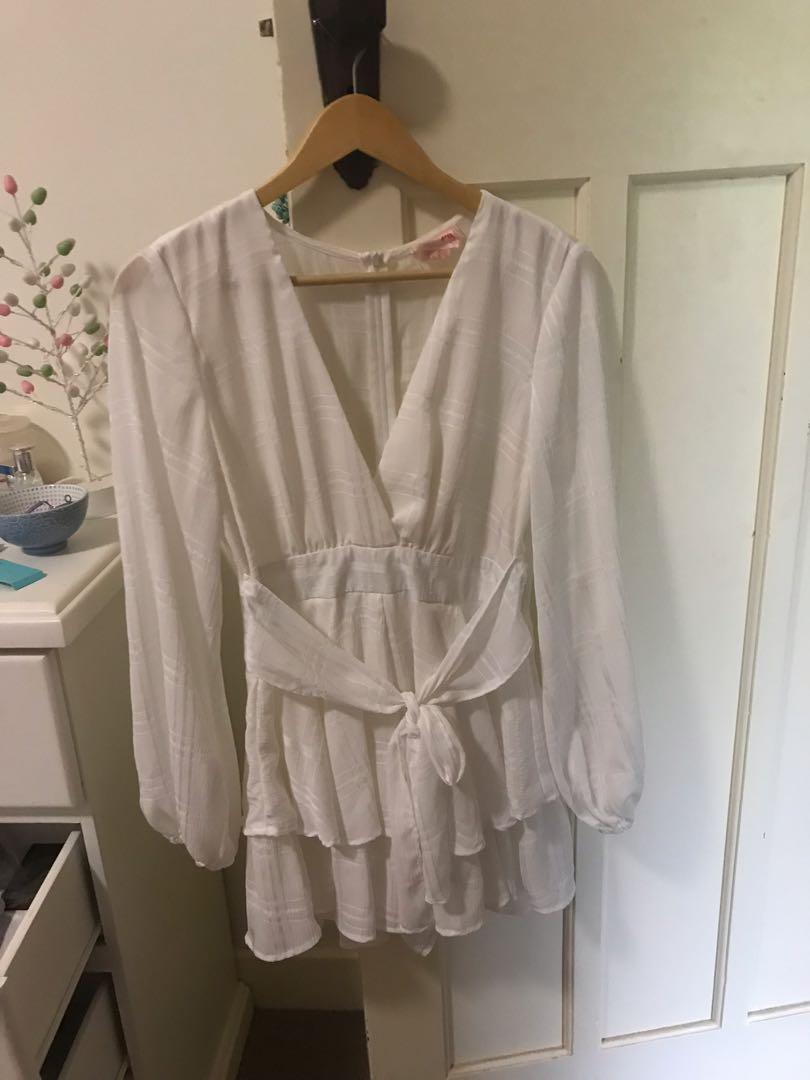 Showpo playsuit, worm once, great condition - size 12