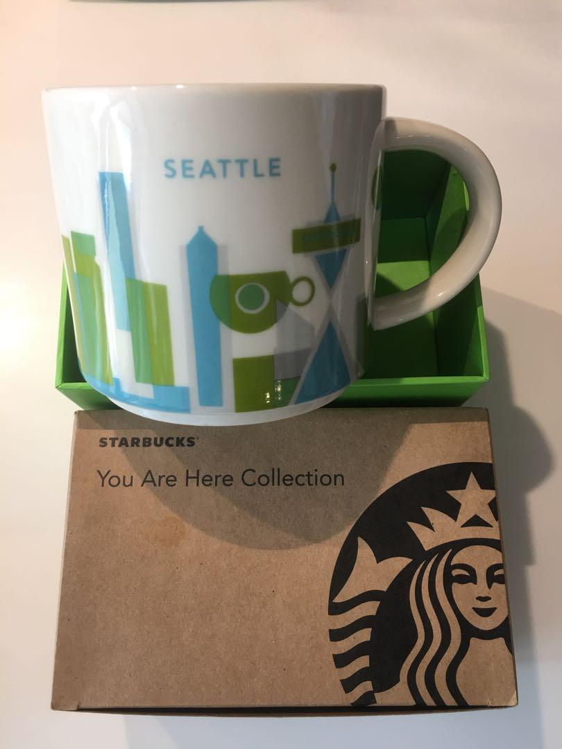 Starbucks You Are Here Collection Seattle Mug Kitchen