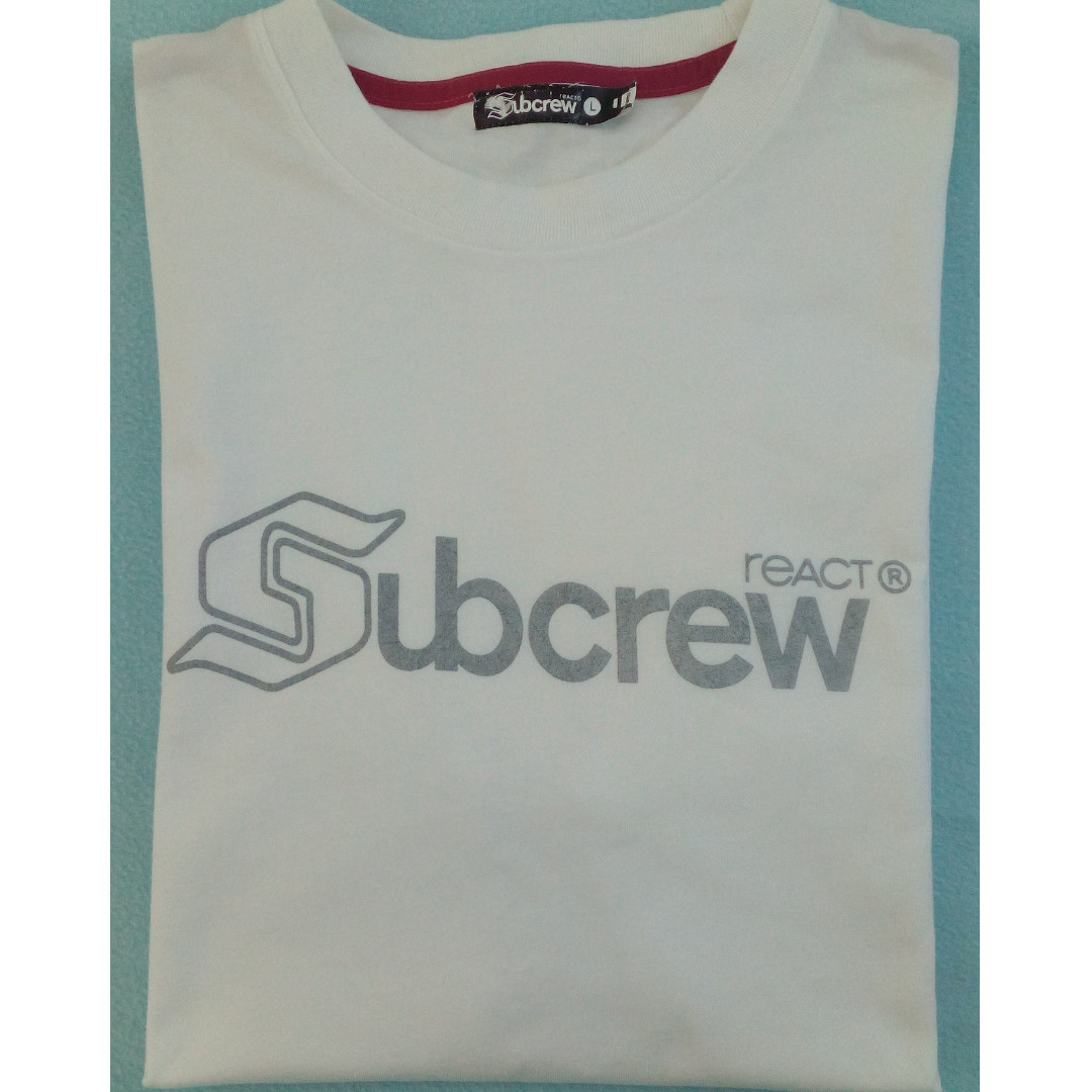 a869acb45952 🔥SUBCREW - Logo T-Shirt (S 2007), Men's Fashion, Clothes, Tops on ...