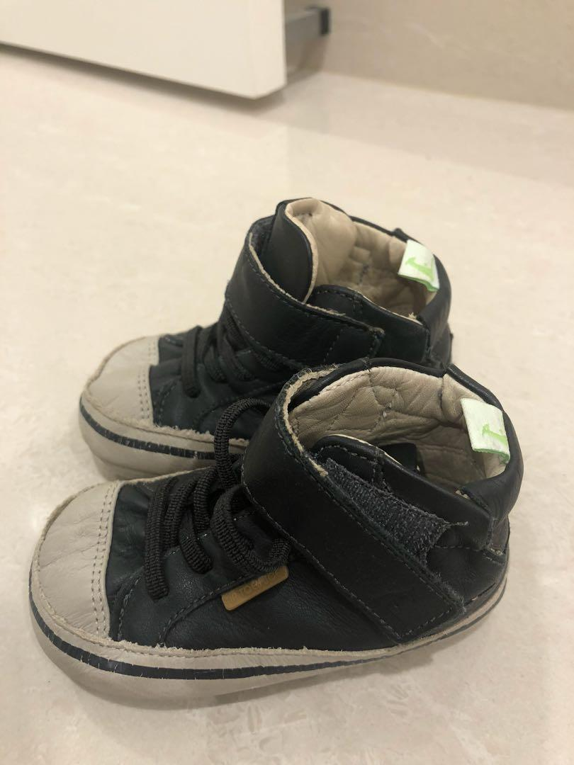 Tip Joey Joey leather baby shoes