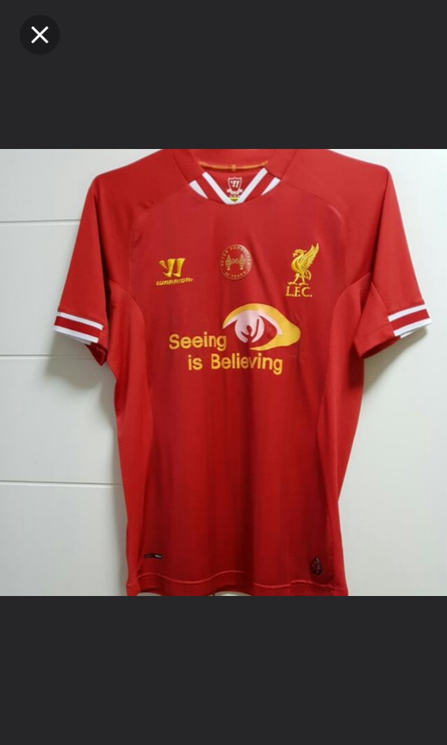 c23ebfc5f WARRIOR Liverpool 13 14 Home Jersey