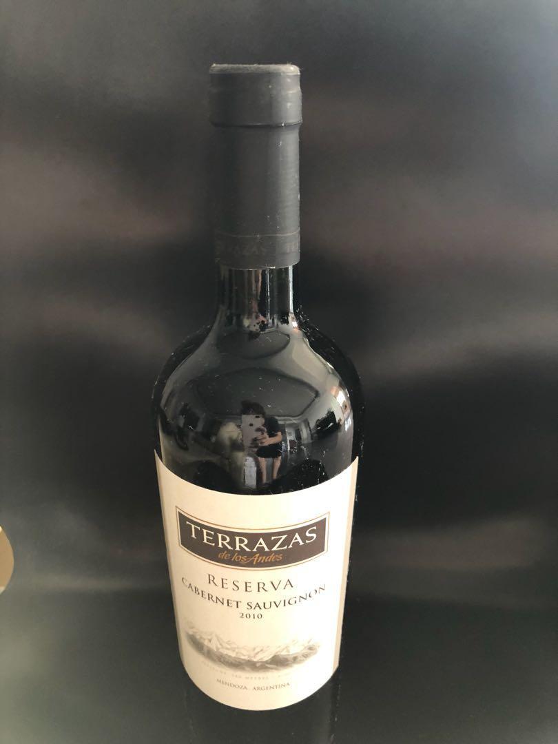 Wine Terrazas Reserva Cabernet Sauvignon 2010 Food Drinks