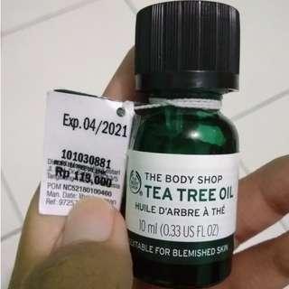 [Preloved] Tea Tree Oil The Body Shop