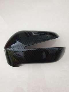 🚚 5D Carbon Fibre (CF) Printed Stick-on Side Mirror Covers for Honda Civic FD1/FD2 (Fixed Price)