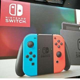 全新未開封 Switch主機