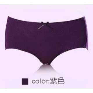 Menstrual Period Underwear in Purple