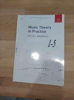 Abrsm music theory in practice model answer