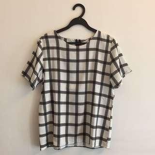 BN Checkered Top