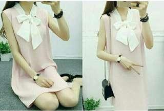 Dress Syall Pita Pink