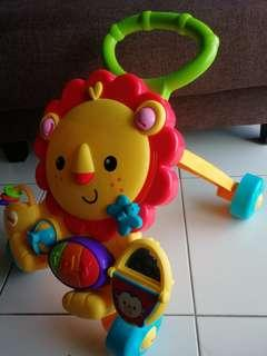 Fisher-price infant lion walker