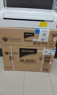 Sharp kredit tanpa bunga tersedia 1/2pk tanpa dp