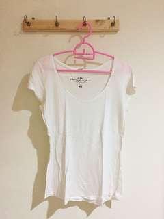 Kaos Putih H&M