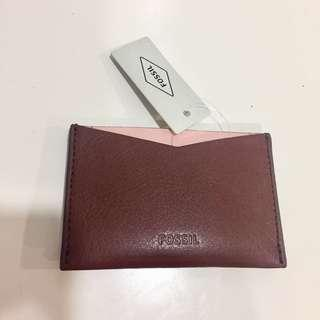 BNWT fossil card case