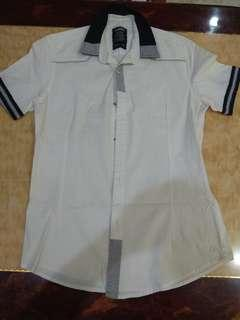 White Shirt (Stretchable)