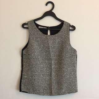 BN Black Knit Top
