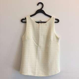 BN Cream Knit Top
