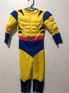 Wolverine Costume for 3-4 yrs old