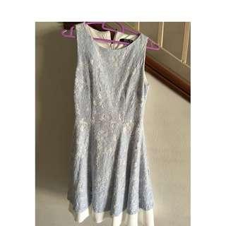 MGP Powder Blue Lace Dress (S size)