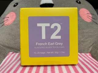T2 French Earl Grey 茶包