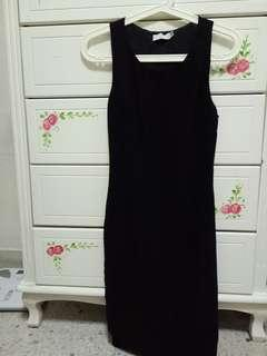 Love Bonito Black Dress with Cut-out Detail