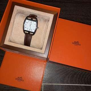 90%New 100%Authentic Hermes Watch with date including original box and certificate