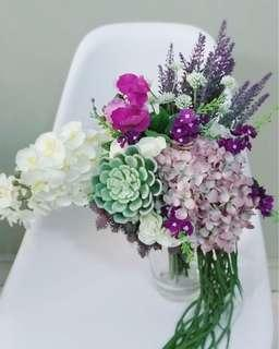 Artificial Flowers Handbouquet