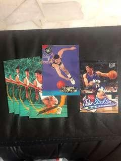 🚚 John Stockton Basketball Card Lot