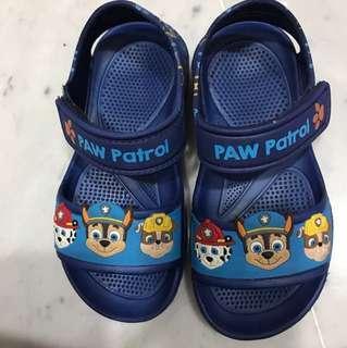 Paw patrol sandals 18cm