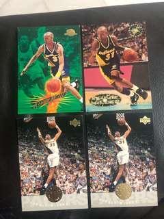 Reggie Miller Basketball Card Lot