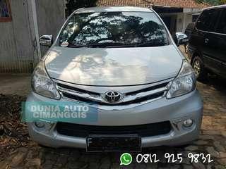 Toyota Avanza 1,3 G matic 2012 bisa kredit