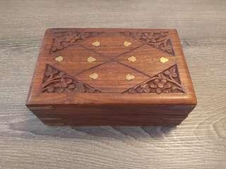 Wooden Jewelry/Trinket Box