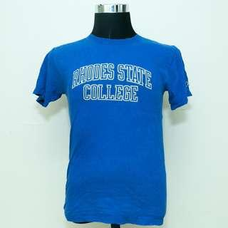 Authentic Champion Rhodes State College S Size Shirt