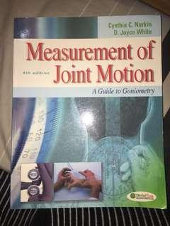 Norkin and White Measurement of Joint Motion