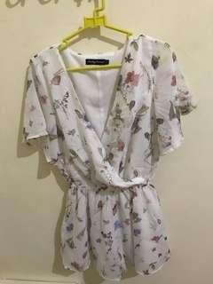 SOMETHING BORROWED - Floral Dress #1