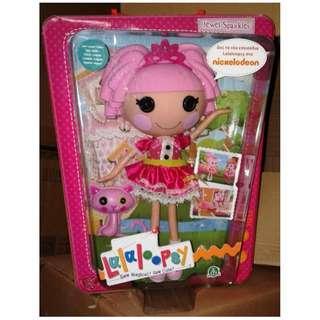 """絕版 lalaloopsy Sew Magical Sew cute Jewel Sparkles 12"""" doll figure 1盒"""