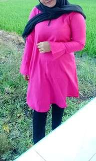 Baju pink bkk