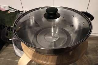 NEW! 不鏽鋼火爐專用鍋 Steeless Hot Pot Casserole