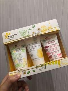 Fleurance nature organic bathing care set