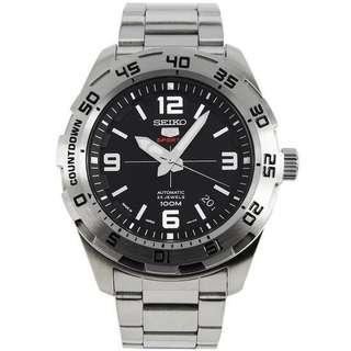 🚚 BNIB Seiko 5 Sports Automatic Japan Made SRPB79 SRPB79J1 SRPB79J Black Dial Stainless Steel Bracelet Men's Watch
