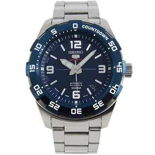 🚚 BNIB Seiko 5 Sports Automatic Japan Made SRPB85 SRPB85J1 SRPB85J Blue Dial Stainless Steel Bracelet Men's Watch