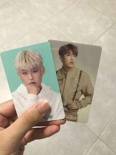 🚚 Wanna one Woo Jin winter store pc and moodlight pc set