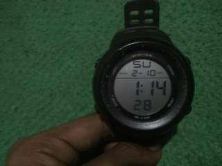 Jam Tangan Digitec DG 3032T full black Original