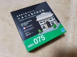 全新法國凱旋門立體Nanoblock